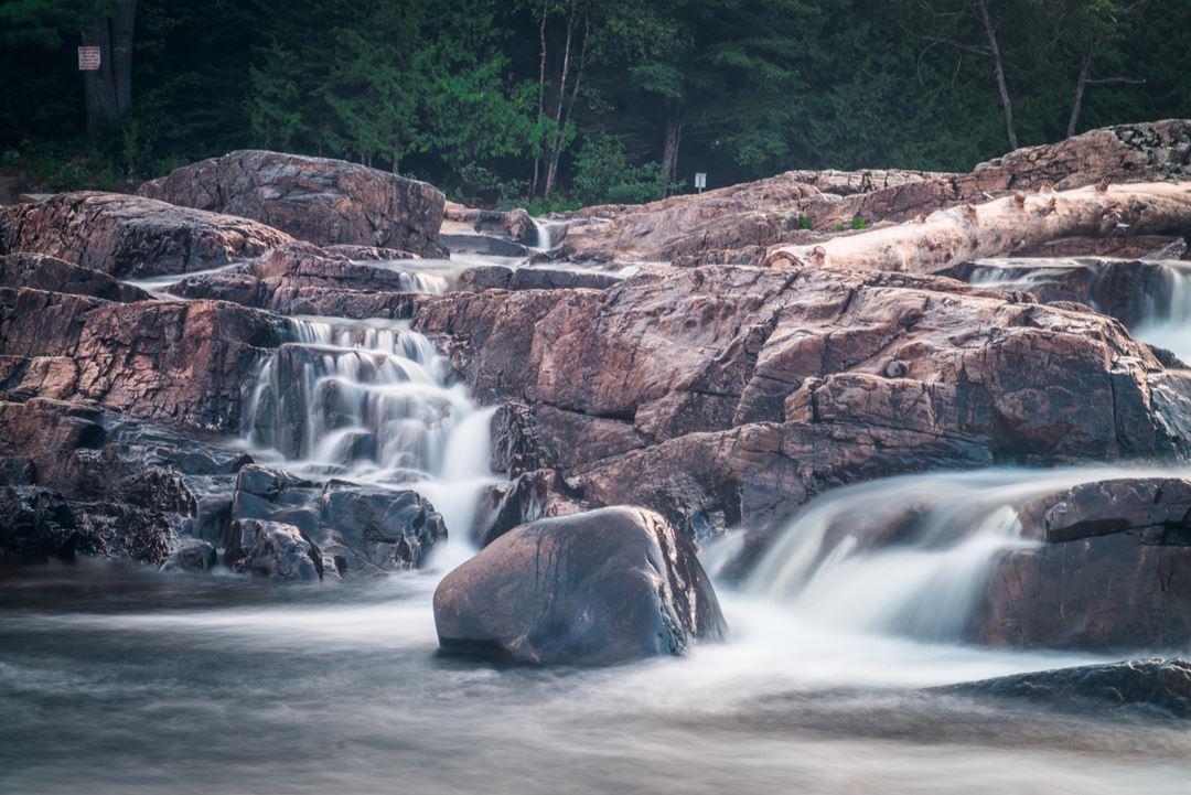 Parc des cascades à Rawdon