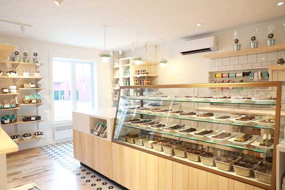 Indoor of the shop Chocolaterie Choco Chocolat