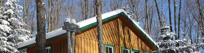Refuge parc de la forêt Ouareau