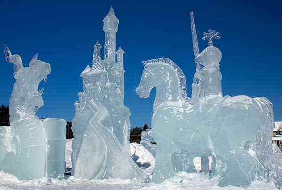 Saint-Côme en glace