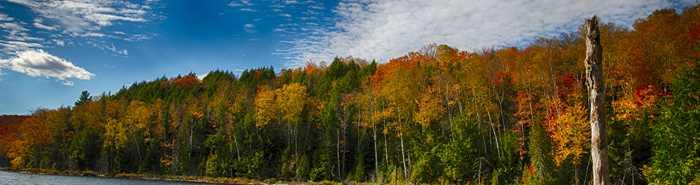 Les Sentiers du Lac en Coeur en automne