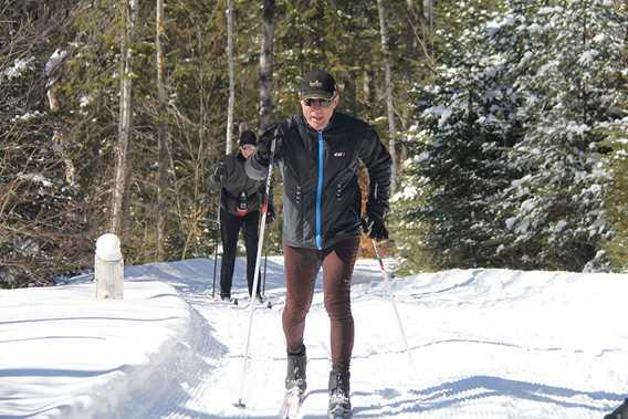 Ski de fond - Sentiers municipaux de Saint-Donat