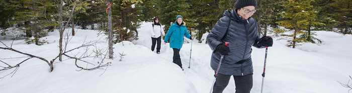 Ski de fond et raquette - Sentiers municipaux de Saint-Côme