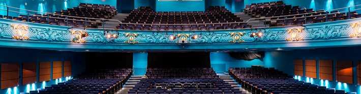 Salle bleue du Centre culturel Desjardins