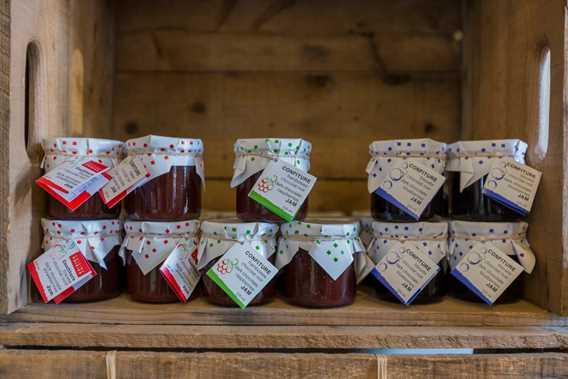 Jams from Qui sème récolte! / Cuisine Poirier