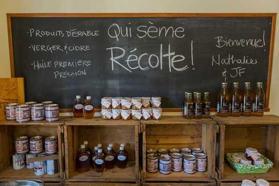 Products Qui sème récolte! / Cuisine Poirier