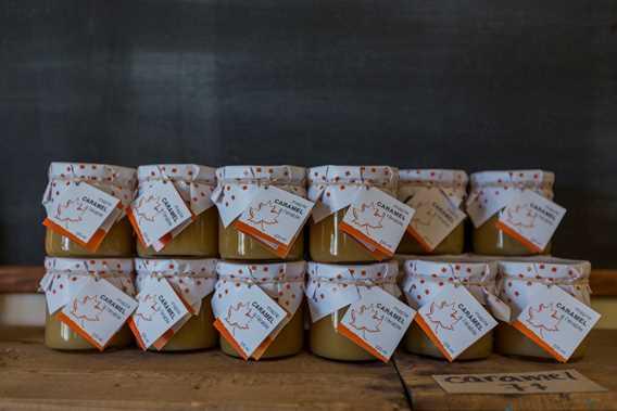 Pots of caramel of Qui sème récolte! / Cuisine Poirier