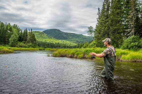 Pêche à la Pourvoirie La Barrière