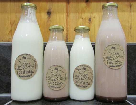 Milk from Ferme Vallée Verte