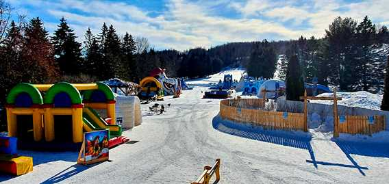 Inflatable park Saint-Jean-de-Matha