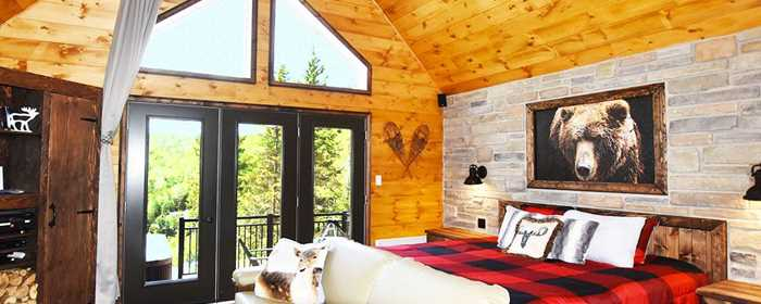 Versants Symbiose - chalet pour couples