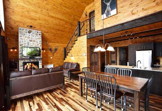 Confort et foyer au bois