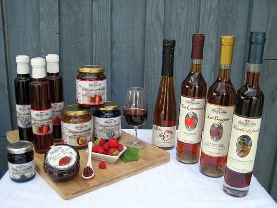 Regional products of Ferme Guy Rivest