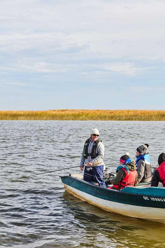 Fall fishing at Roger Gladu