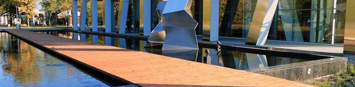 Centre d'art Diane-Dufresne, destination urbaine à Repentigny