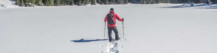 Snowshoeing in Lanaudière