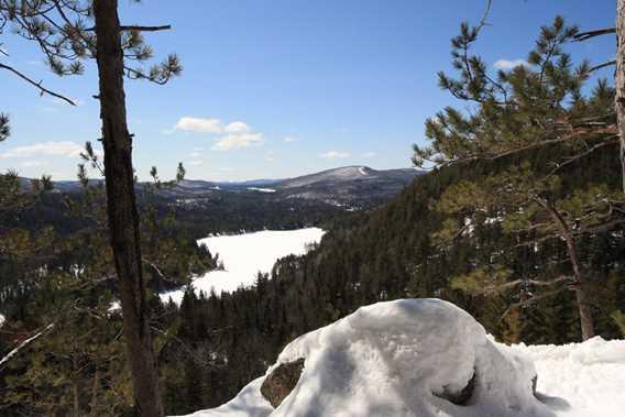 Au sommet du Lac Blanc