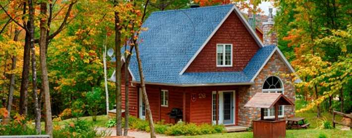 A cottage at Natur'Eau - Spa & Chalets