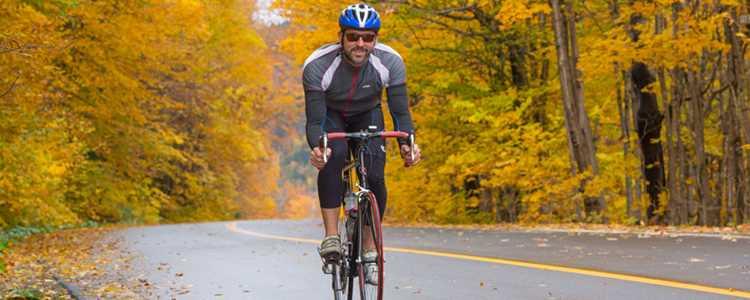 Faire du vélo de route dans Lanaudière