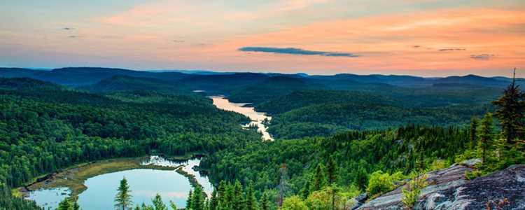 La vue au sommet de la Grande Boucle Zen Nature