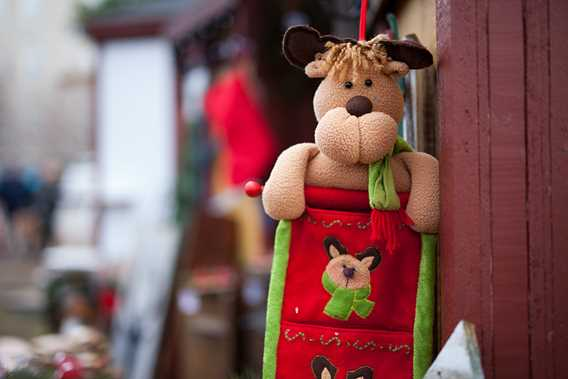 Christmas market of Terrebonne