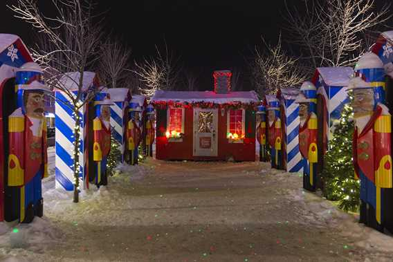 Christmas market of Joliette