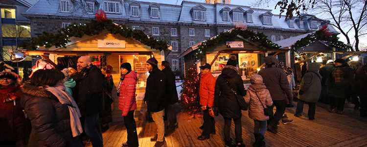 Christmas market of l'Assomption