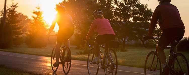 Faire du vélo sur le Chemin du Roy