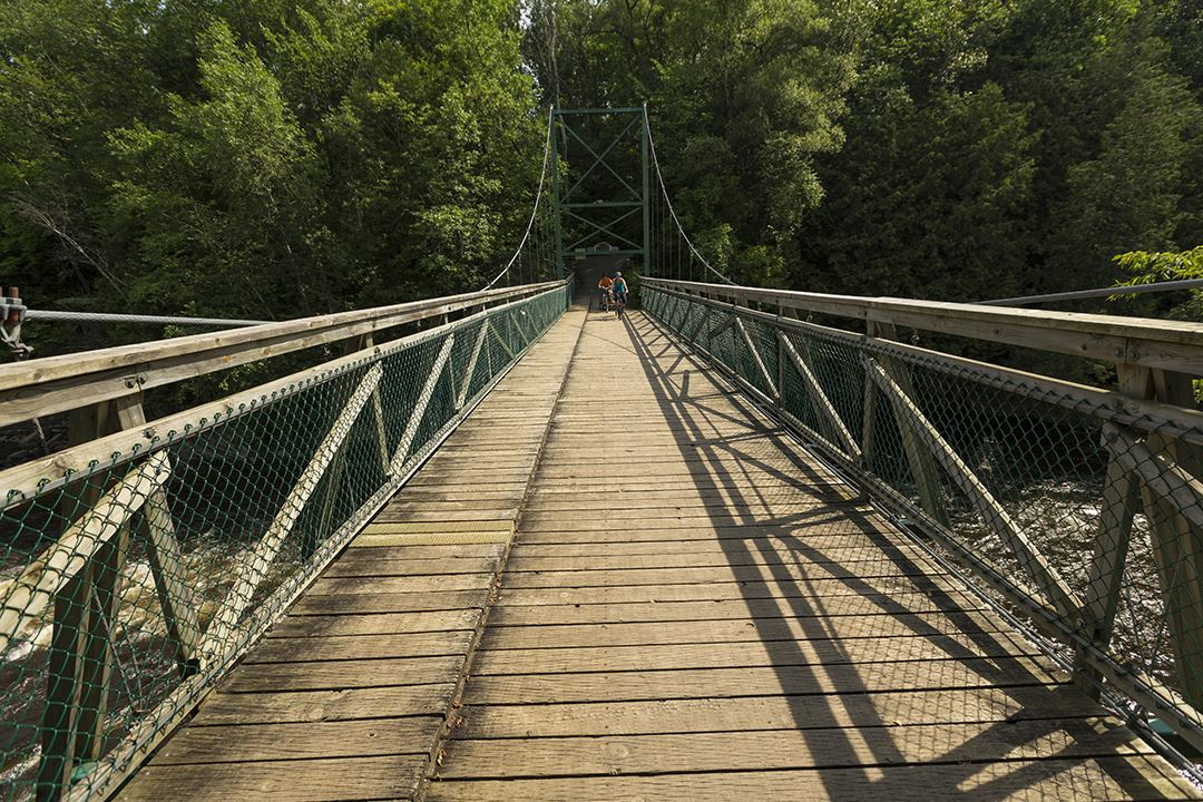 Les pistes cyclables à Joliette