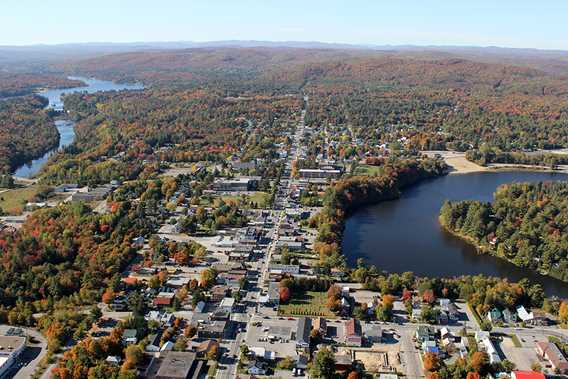 Total view of Rawdon