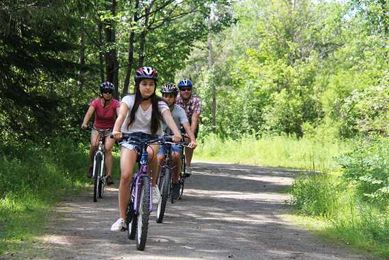 Bike paths of Saint-Donat