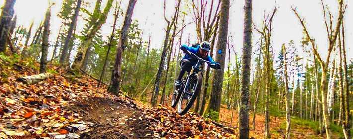 Go mountain biking at Saint-Côme