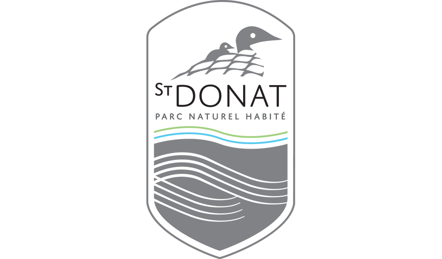 Logo of the municipality of Saint-Donat