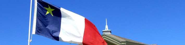 Nouvelle-Acadie flag