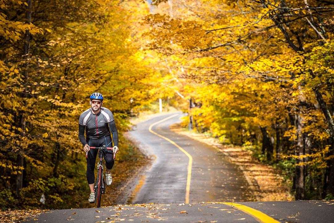 Faire du vélo à Saint-Donat