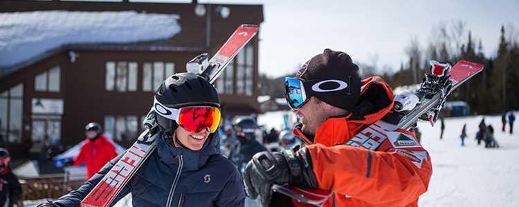 Aller skier à Val Saint-Côme