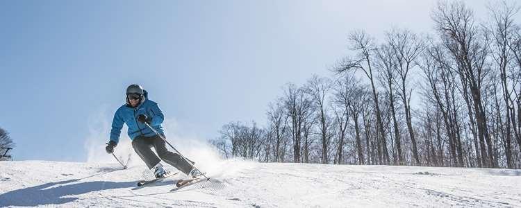 Aller skier au Ski Montcalm