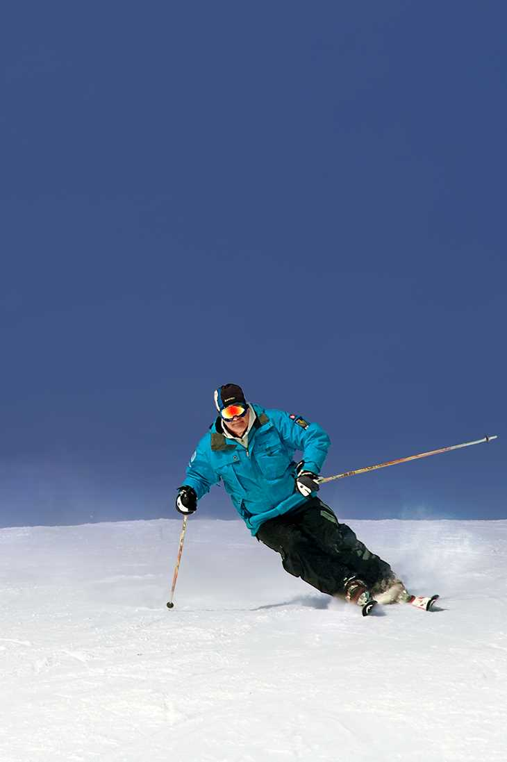 Go skiing at Ski Mont Garceau
