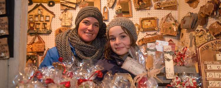 Christmas market of Terrebonne