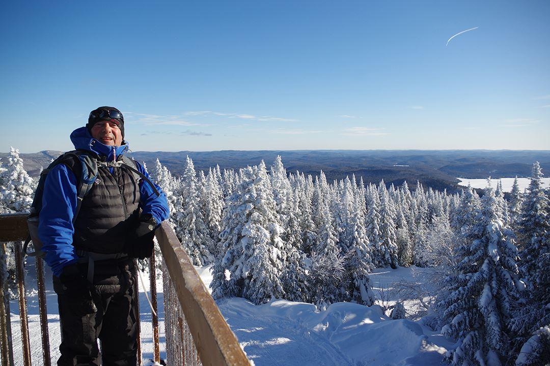 Faire de la randonnée l'hiver sur la Montagne Noire