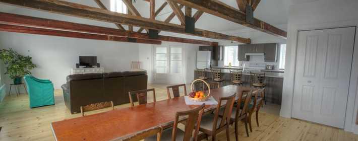 Inside a cottage at Chalet Le Montcalm