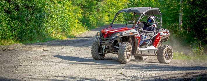 Les sentiers de quad dans Lanaudière