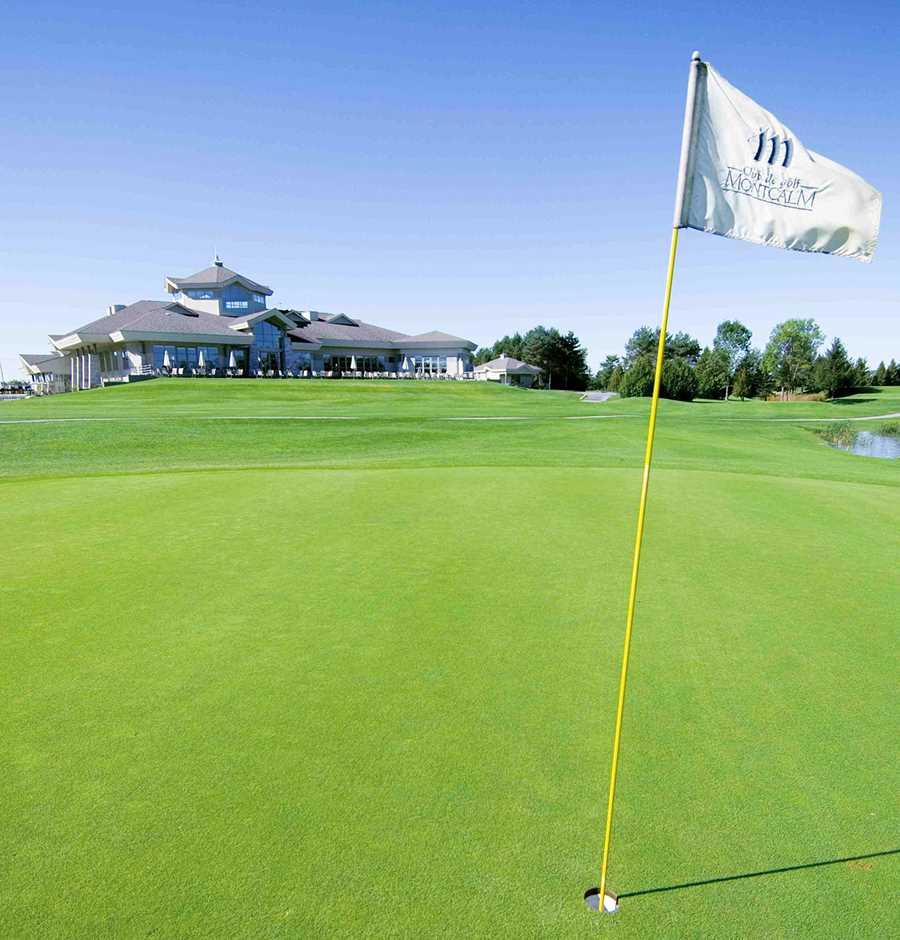 Club de golf Montcalm dans Lanaudière