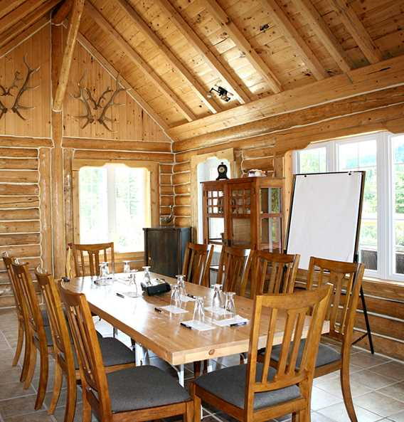 Meeting room in a cottage at Auberge du Vieux Moulin