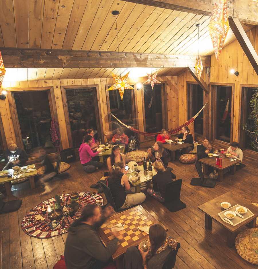 Common room in Kabania