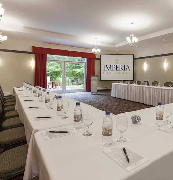 Meeting room at the hotel Imperia