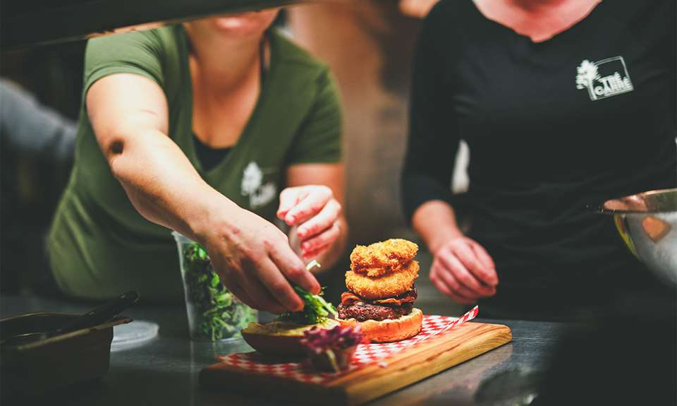 Hamburger Trécarré Microbrasserie
