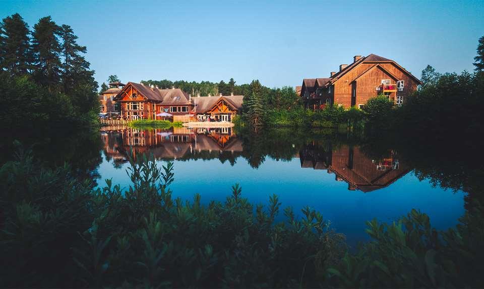 Auberge du Lac Taureau en été